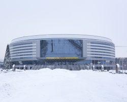 Благоустройство Минск-Арена