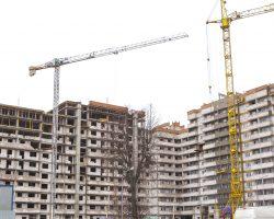 Строящийся жилой дом по ул. Корш-Саблина-Беды