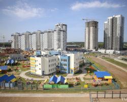 Детский сад в микрорайоне Лебяжий